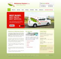 Motorway Express Website by Ibrahim-Nisar
