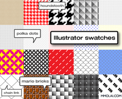 Illustrator Swatches by mmolai