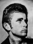 James Dean by Ray-Clark