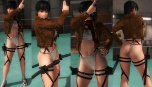 Ayane fundoshi jacket by funnybunny666