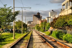 On The Tracks in Memphis by isaacsingleton