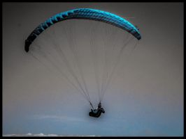PARAGLIDING IN SOUTH FRANCE by IME54-ART