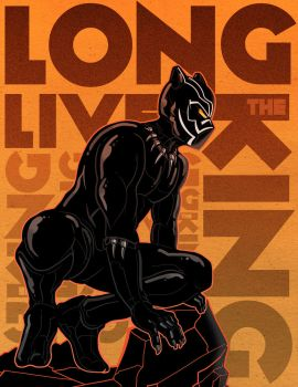 Black Panther Poster 2 by PaulSizer