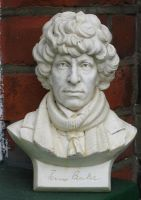 Tom Baker 4th Doctor Bust. by sueworld