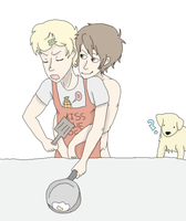 COOKING: Sketch by Akkain