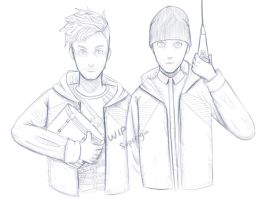 Twenty One Pilots - Fairly Local WIP by Super-Gia