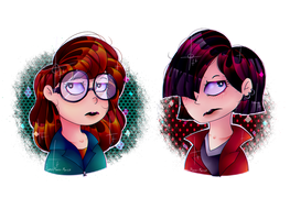 Daria And Jane by flame-finn-marce