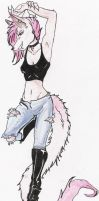yeah my anthro person...thingy by Kashi-kun