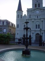 Jackson Square by afraudandafake