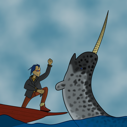 Captain Vermillion, Whale Puncher by GreatWyrmGold