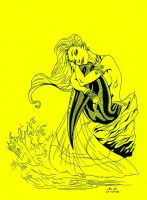 The Little Mermaid by J-Scott-Campbell by SketchB0000k