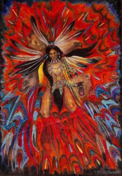 Native American Indian by IthilElbereth