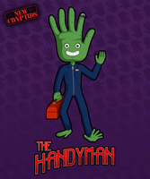 New Cryptids: The Handyman by frankly-art