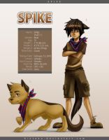 UTAU. SPIKE. Official Art. by handbeer