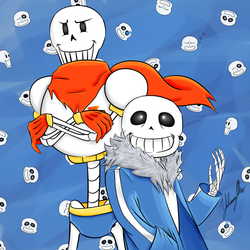 Skelebros by IshioShima