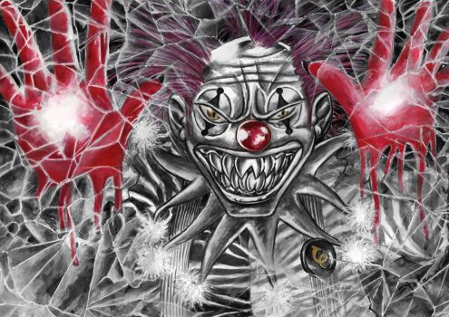 Killer Klown by Steff00