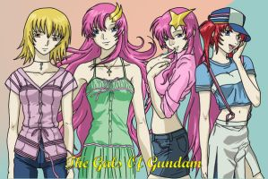 The Gals OF Gundam by AsherothTheDestroyer