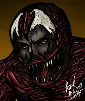 Carnage Speed Painting by Seelenjaeger