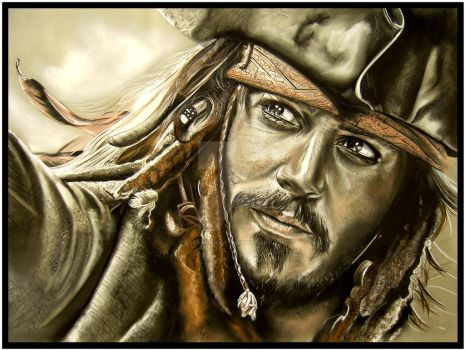 Captain Sparrow by Lost-in-decay