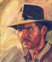 Indiana Jones by ssava