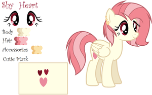 Mlp Next gen Shy Heart by EmaBases