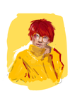 redhaired guy two by Lynxina