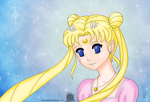 Usagi Tsukino by Blackmoonrose13