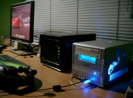 My new Shuttle XPC SX38P2 Pro by 3xhumed