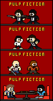 Pulp Fiction by FreakaJebus