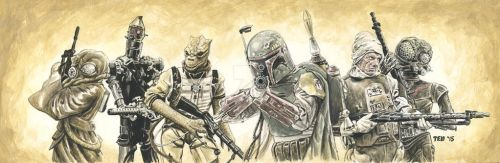 Bounty Hunters by tdastick