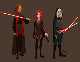 EVEN MORE STAR WARS OCS by TheGingerMenace123