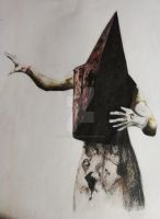 Pyramid Head (Silent Hill 2) by CoondyCreations