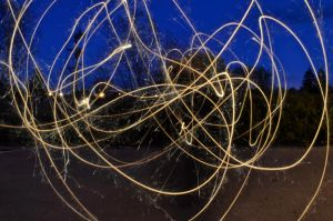 Light Painting by Oughter