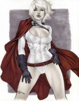 eBas Copic Power Girl by ebas
