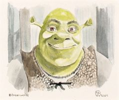 Shrek by ewportfolio