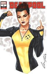 Negasonic Teenage Warhead by Elias-Chatzoudis