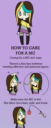 How to care for a MC by DeadlyNightShade7753