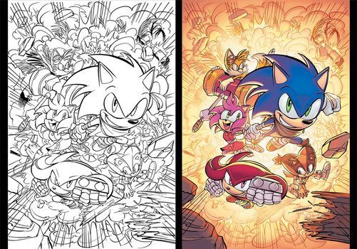 SonicBoom#11-Cover by Nerfuffle