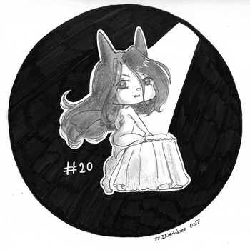 #INKtober day 20 - Murky by ShinePikaPi