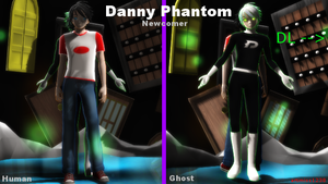 MMD Newcomer:  Danny Phantom/Fenton + DL by artimiss1238