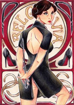 I am SHER-locked - ACEO #44 by Zeolith