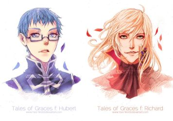 Commission: Tales of Graces f: Hubert + Richard by Yaoi-World