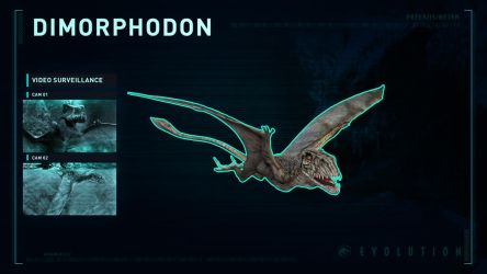 Jurassic World Evolution Dimorphodon by PeterisBeter