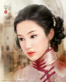 shanghai girl from 1930s by yangqi