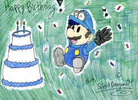 Happy Birthday, MarioMinecraftMix by MegaMixStudios