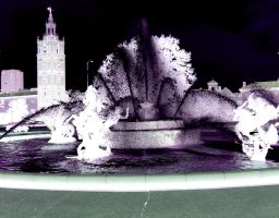 Plaza Fountain by sSTARRMa