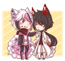 [AT] Angel and Nicholas by Wila-Chan