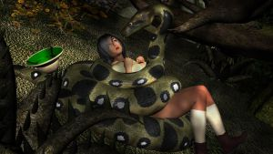 Karra and the Anaconda by Blightmere