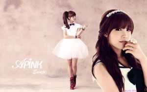 APink Jung Eunji Wallpaper HD by oddbasket