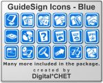 GuideSign Simple - Blue by digitalchet